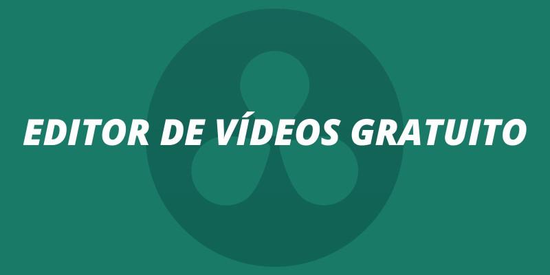 Editor de vídeos gratuito
