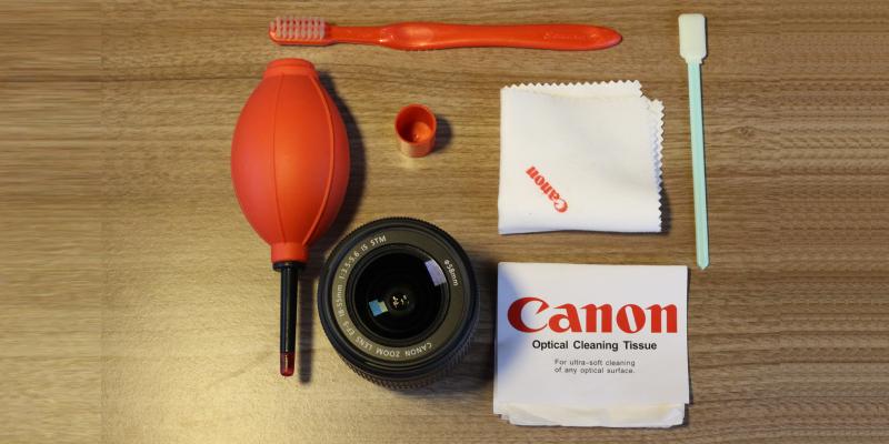 Aumente a vida útil do seu equipamento fotográfico fazendo limpezas periódicas e de forma correta