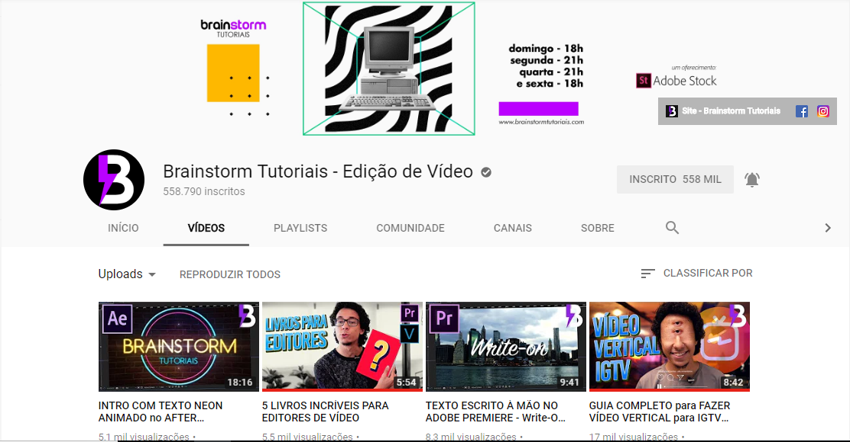 5 Canais do YouTube para quem quer aprender produção de vídeos